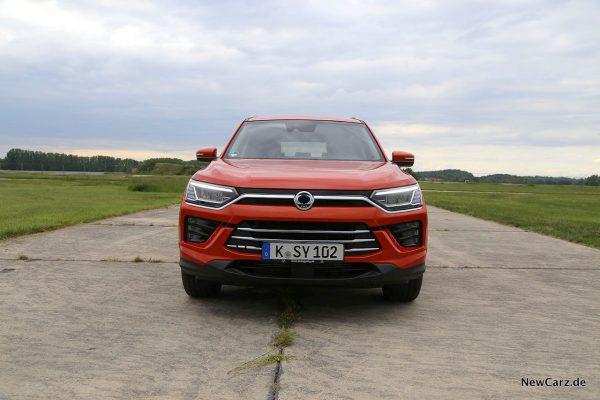 SsangYong Korando 2WD Front