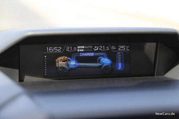 Kraftfluss Subaru Hybrid