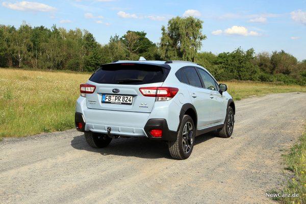 Subaru XV e-Boxer schräg hinten rechts