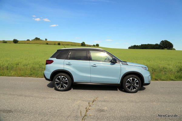 Suzuki Vitara Hybrid Seite