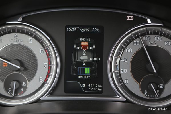 Energiefluss Hybrid