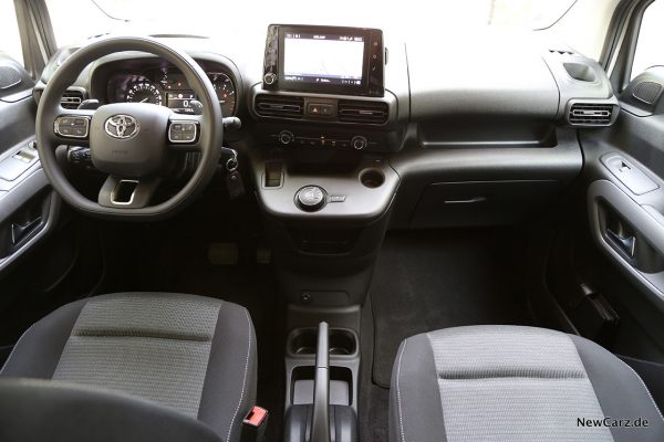 Interieur Toyota Proace City Verso