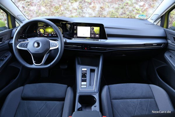 Interieur VW Golf VIII