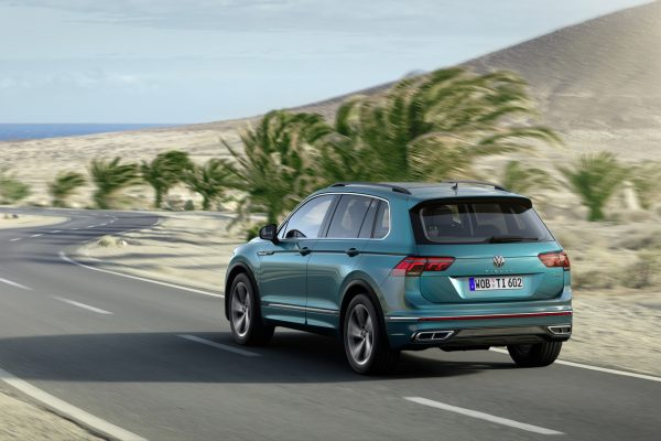 VW Tiguan III schräg hinten