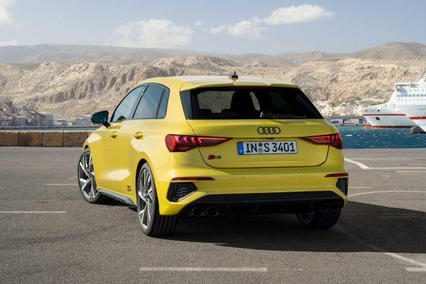 Audi S3 Sportback Heck