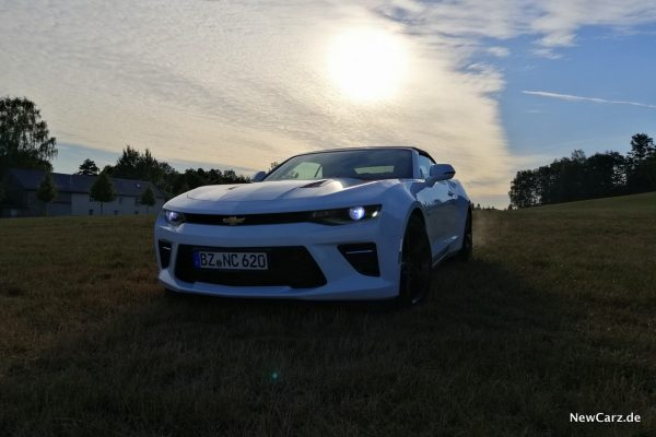 Chevrolet Camaro V8 Sunset