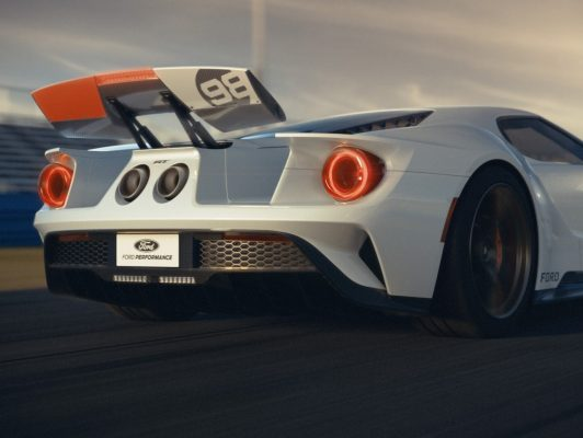 Ford GT Heritage Edition Heck