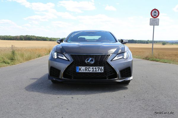 Lexus RC-F Track Edition Frontansicht