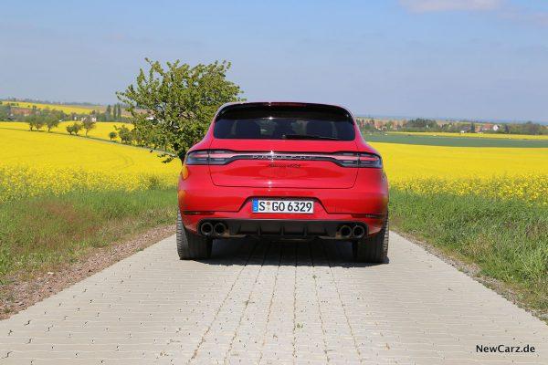 Porsche Macan GTS Heck
