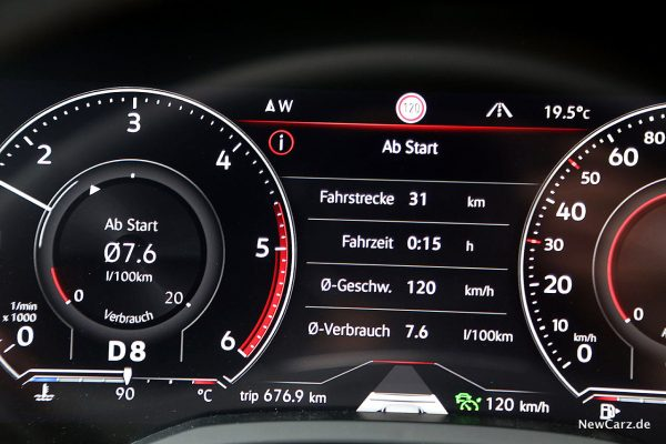 Verbrauch Autobahn Touareg V8