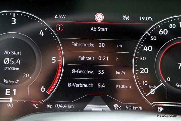 Sparrunde Verbrauch V8 TDI