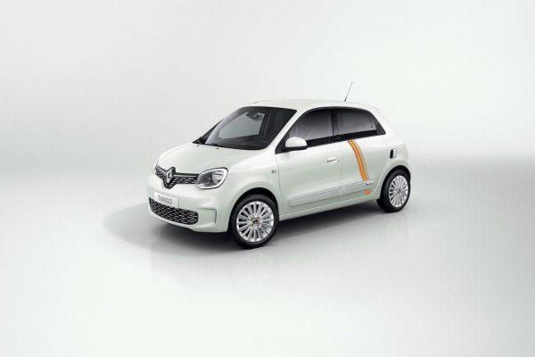 Renault Twingo ZE Vibes Quarz Weiß