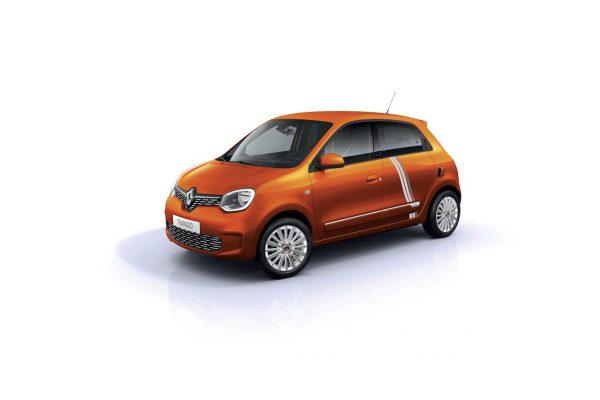 Renault Twingo ZE Vibes Valencia Orange