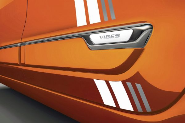 Renault Twingo ZE Vibes Plakette