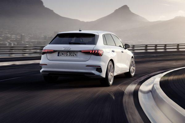 Audi A3 Sportback 30 g-tron hinten