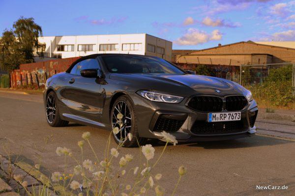 BMW M8 Competition Cabriolet geschlossen