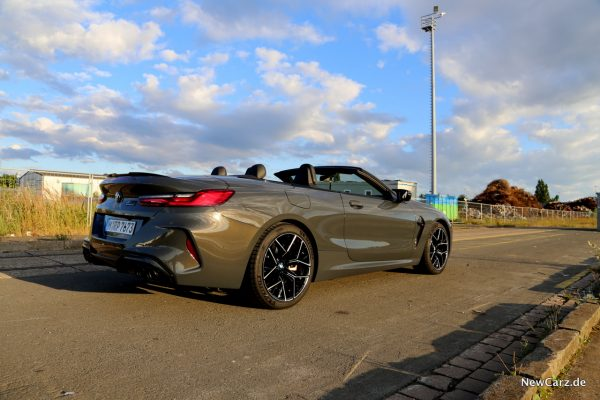 BMW M8 Competition Cabriolet offen