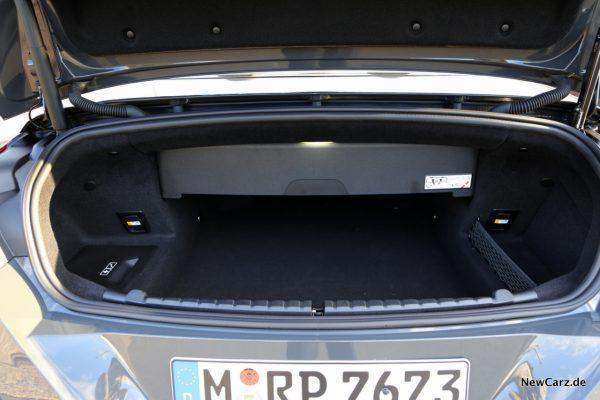 Kofferraum M8 Cabrio