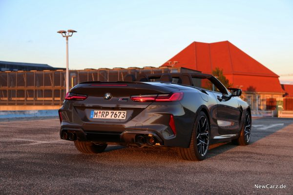 BMW M8 Competition Cabriolet Sunset
