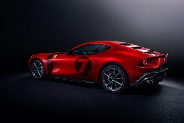 Ferrari Omologata schräg seitlich links
