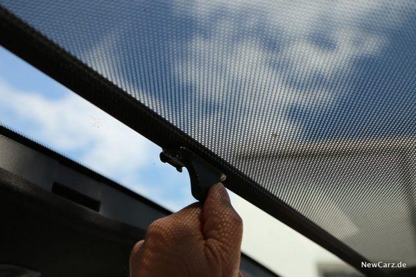 Sonnenschutz Glasdach