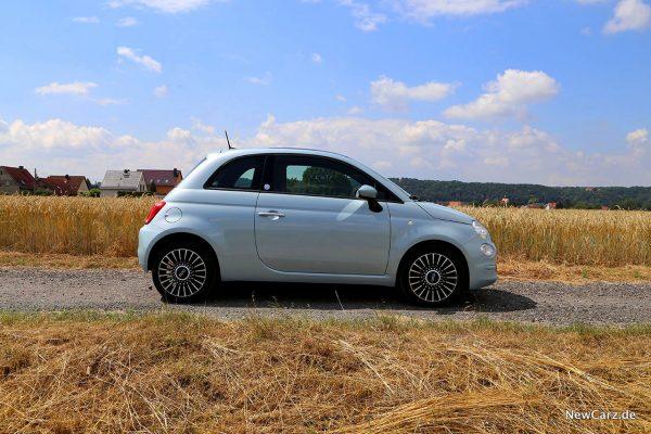 Fiat 500 Hybrid Seite