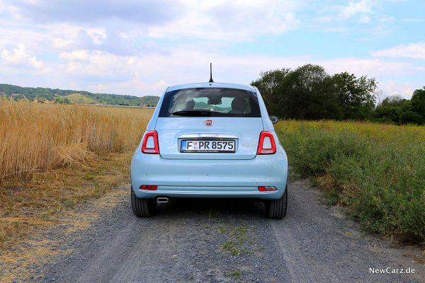 Fiat 500 Hybrid Heck