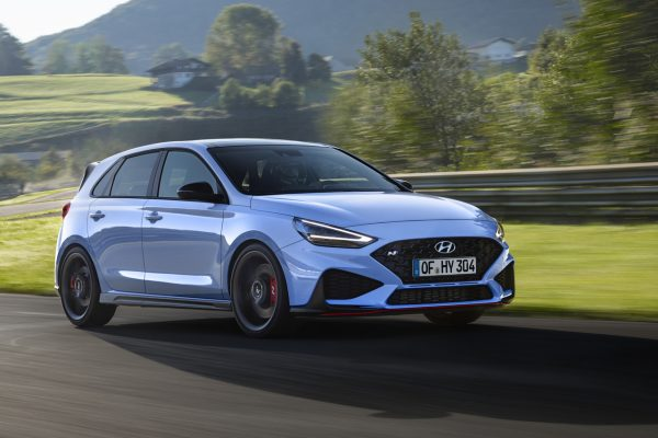 Hyundai i30 N Facelift on track
