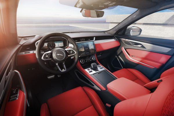 Interieur Jaguar F-Pace Facelift