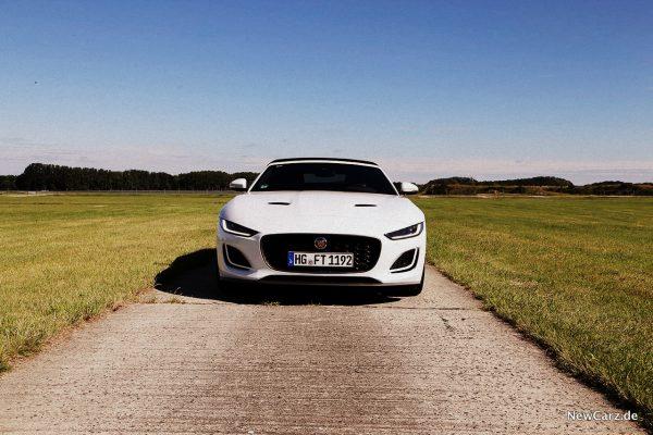 Jaguar F-Type Cabrio Front