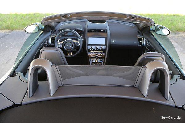 Innenraum Jaguar F-Type Cabrio