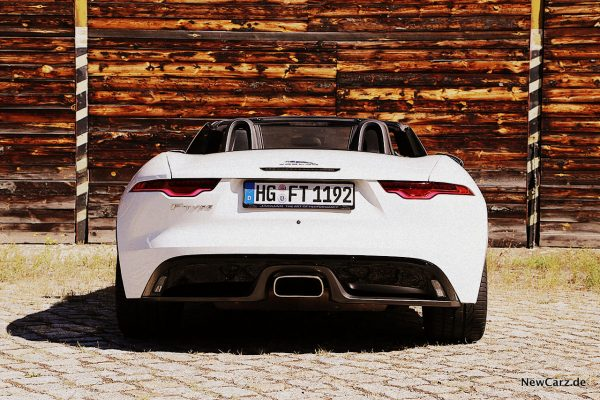 Jaguar F-Type Cabrio Heck