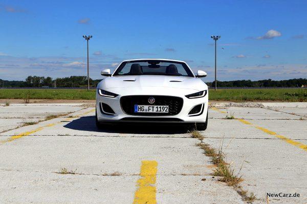 Jaguar F-Type Cabrio Frontbereich