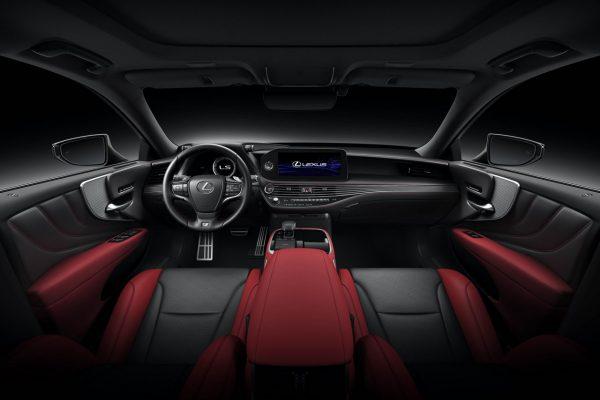 Interieur Lexus LS