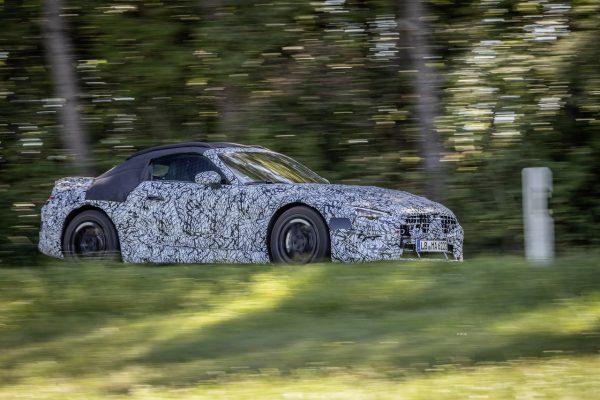 Mercedes-AMG SL Roadster 2021 Seite