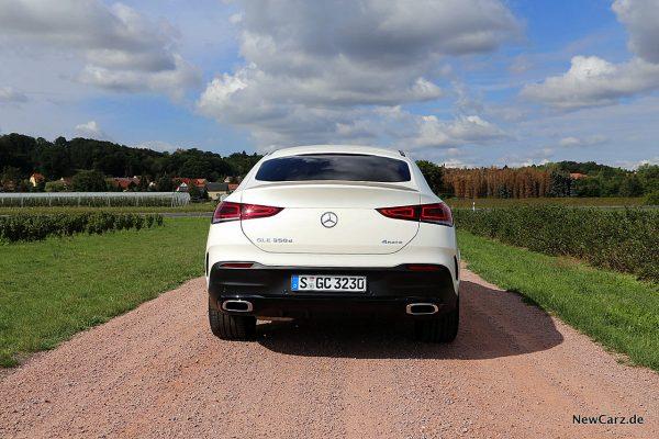 Mercedes-Benz GLE Coupé Heck