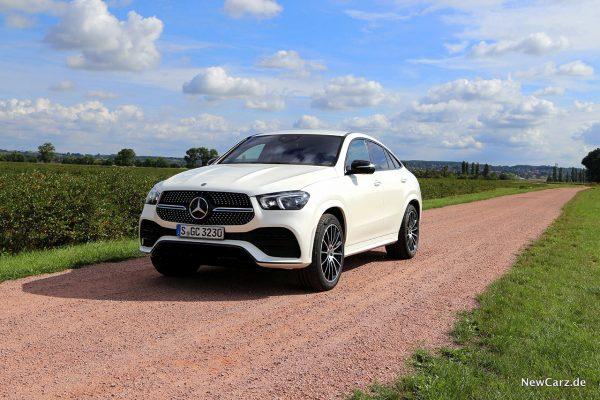 Mercedes-Benz GLE Coupé offroad