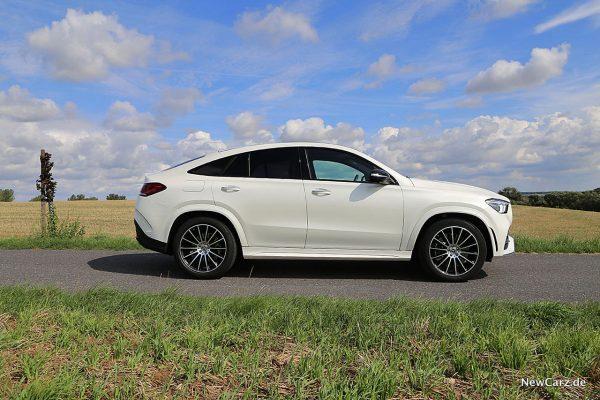 Mercedes-Benz GLE Coupé Seite