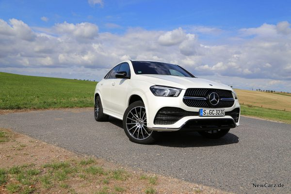 Mercedes-Benz GLE Coupé schräg vorne rechts
