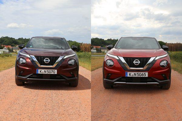 Nissan Juke Vergleichstest Front