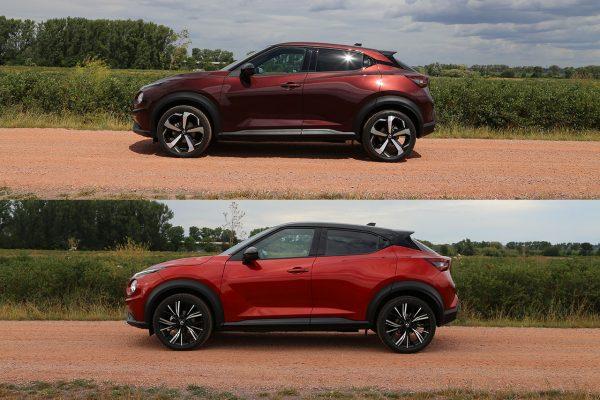 Nissan Juke Vergleichstest Seite