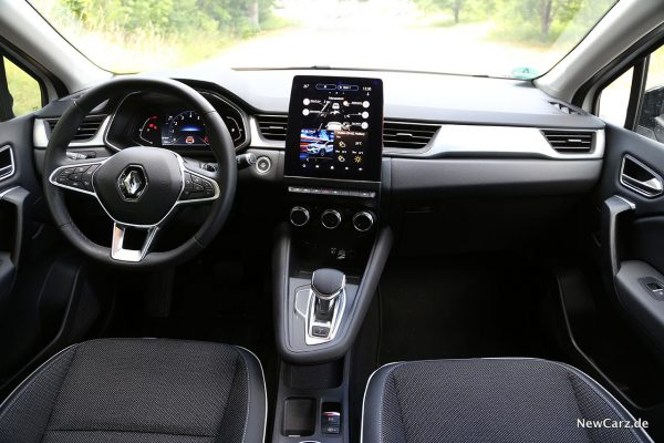 Interieur im Captur