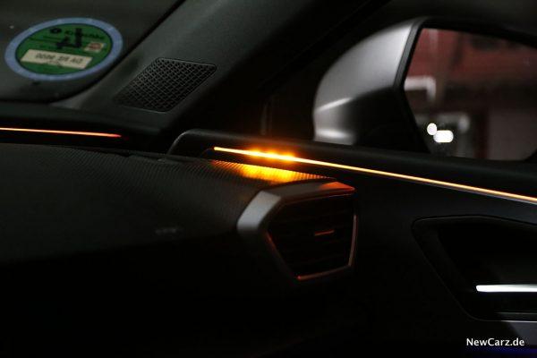 Ambientelicht als Totwinkelwarner
