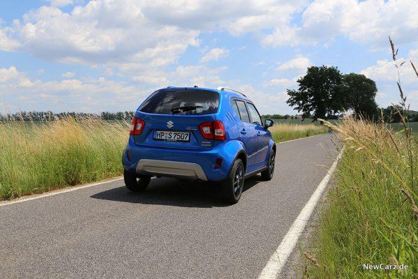 Suzuki Ignis Facelift schräg hinten rechts