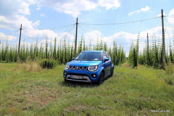 Suzuki Ignis Facelift schräg vorne links
