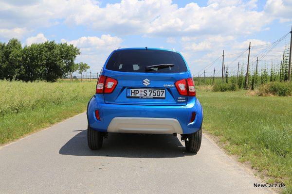 Suzuki Ignis Facelift Heck