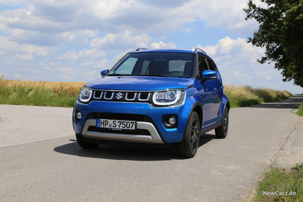 Suzuki Ignis Facelift onroad