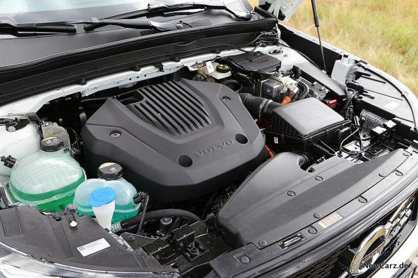 Motorraum Volvo XC40 T5 Recharge