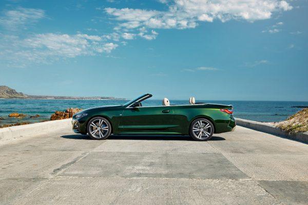 BMW 4er Cabriolet Seite offen