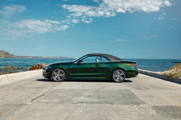 BMW 4er Cabriolet Seite geschlossen